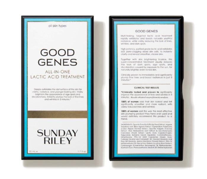 Caja de buenos genes