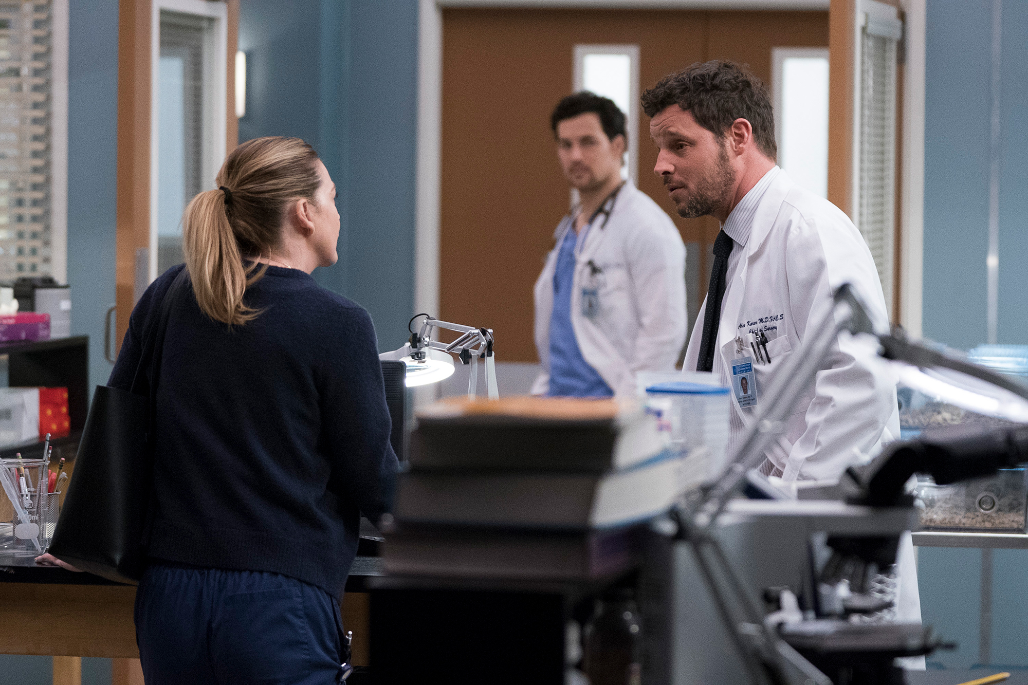 Grey's anatomy recap - Giacomo Gianniotti and Justin Chambers on 'Grey's Anatomy.