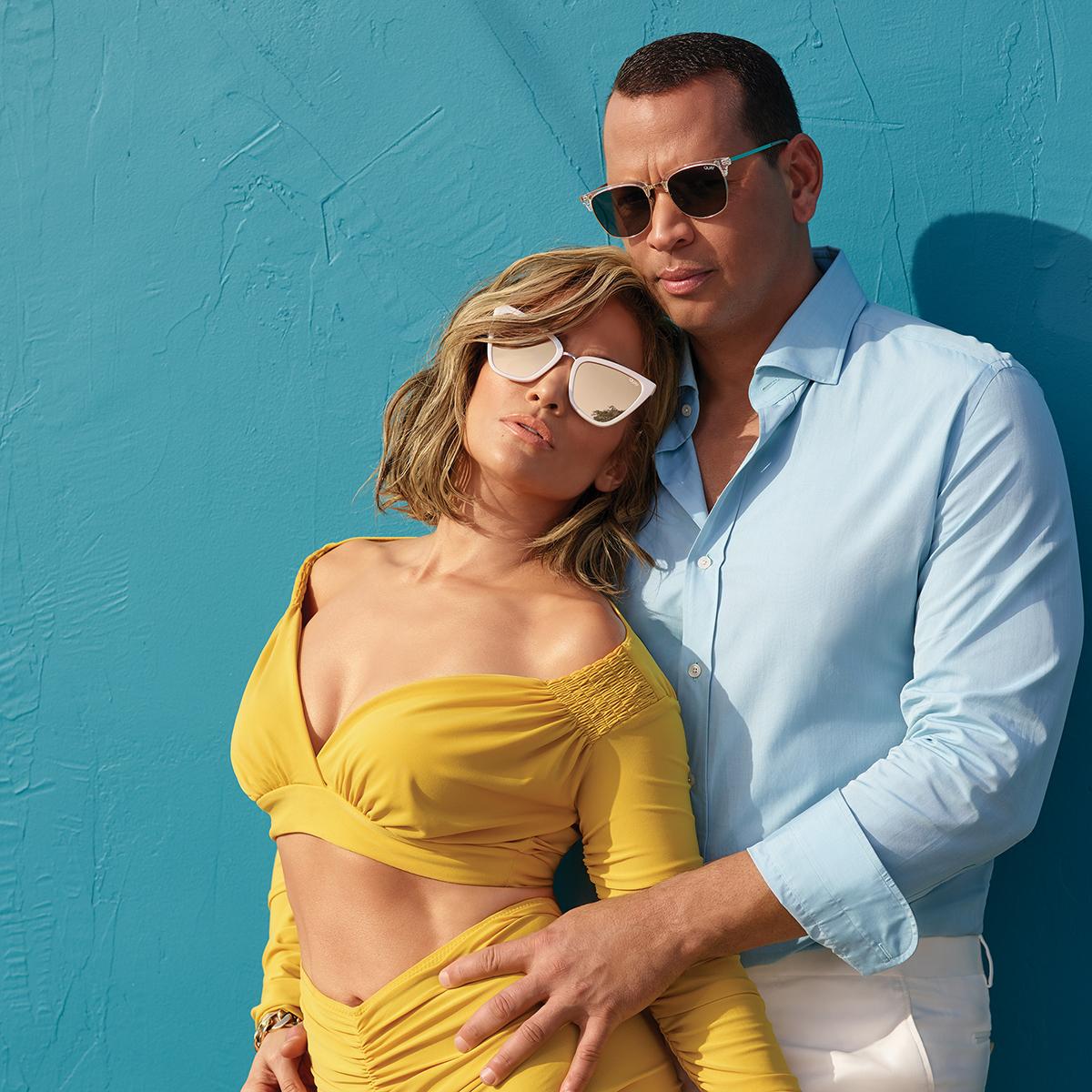 Jennifer Lopez and Alex Rodriguez Dropped a Sunglasses Line With Quay Australia