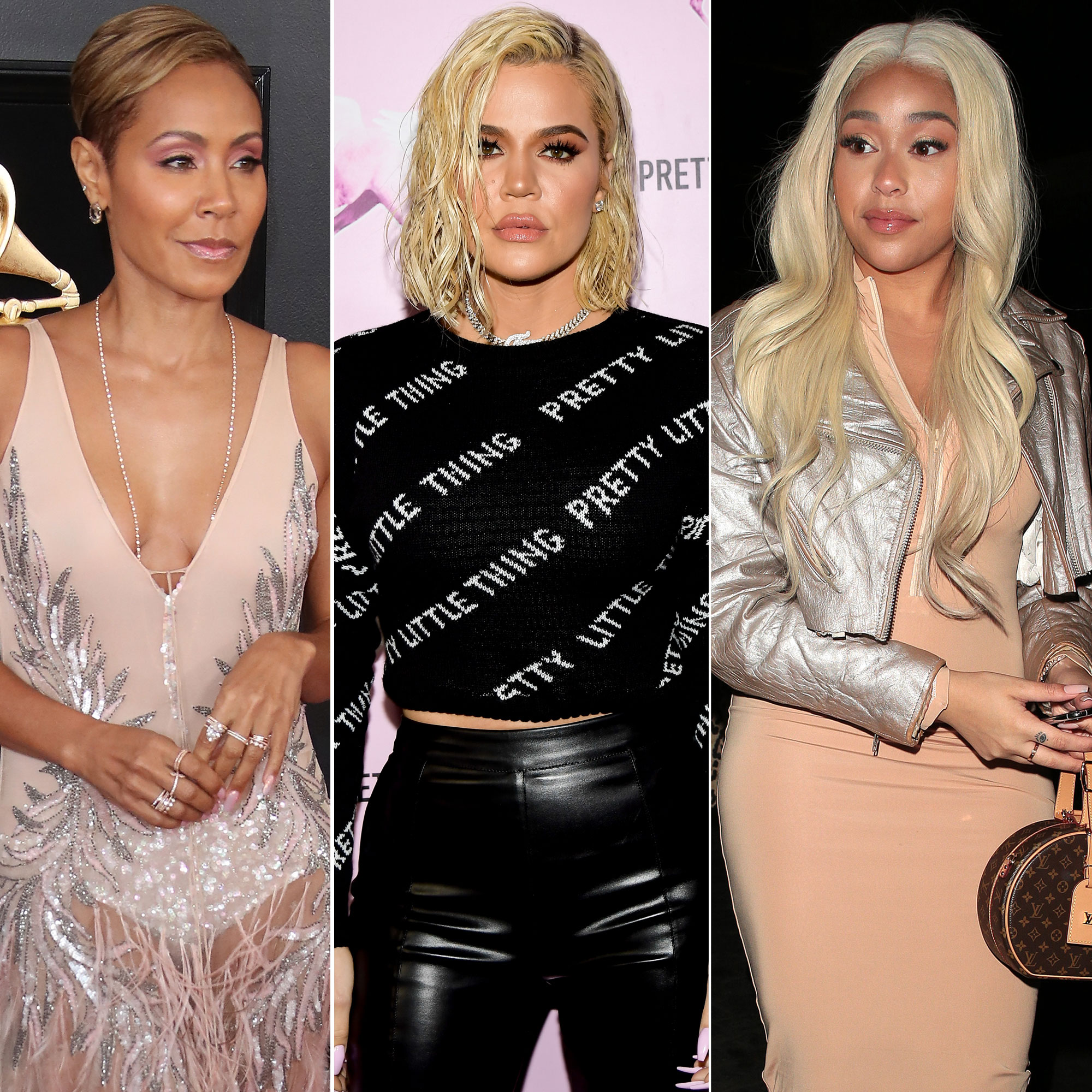 Jada Pinkett Smith Unfollows Khloe, Kris and Kim After Jordyn Woods Scandal - Jada Pinkett, Khloe Kardashian, Jordyn Woods