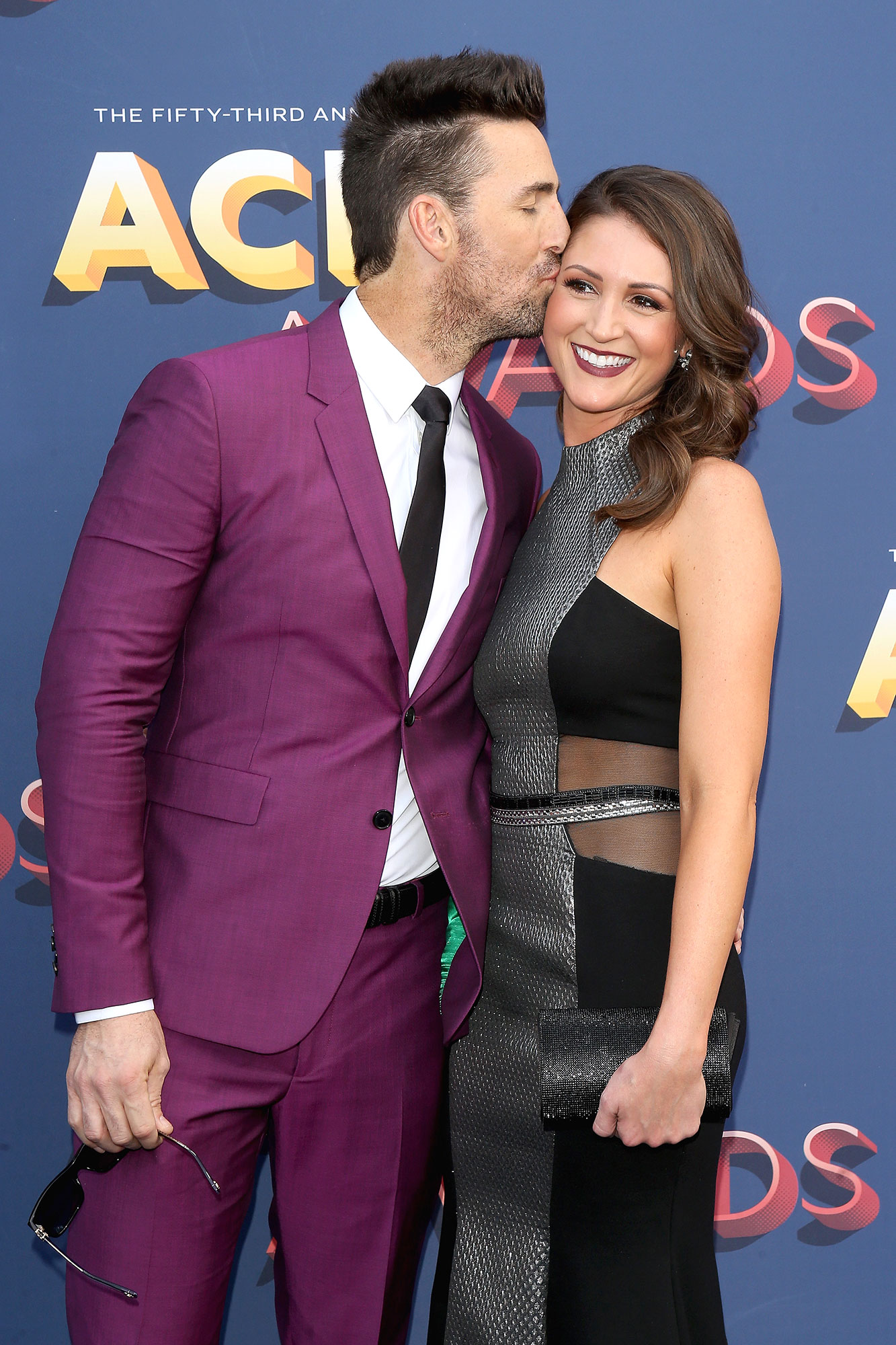 Jake Owen's Girlfriend Erica Hartlein Gives Birth to Their First Child Together, His Second - Jake Owen (L) and Erica Hartlein attend the 53rd Academy of Country Music Awards at MGM Grand Garden Arena on April 15, 2018 in Las Vegas, Nevada.