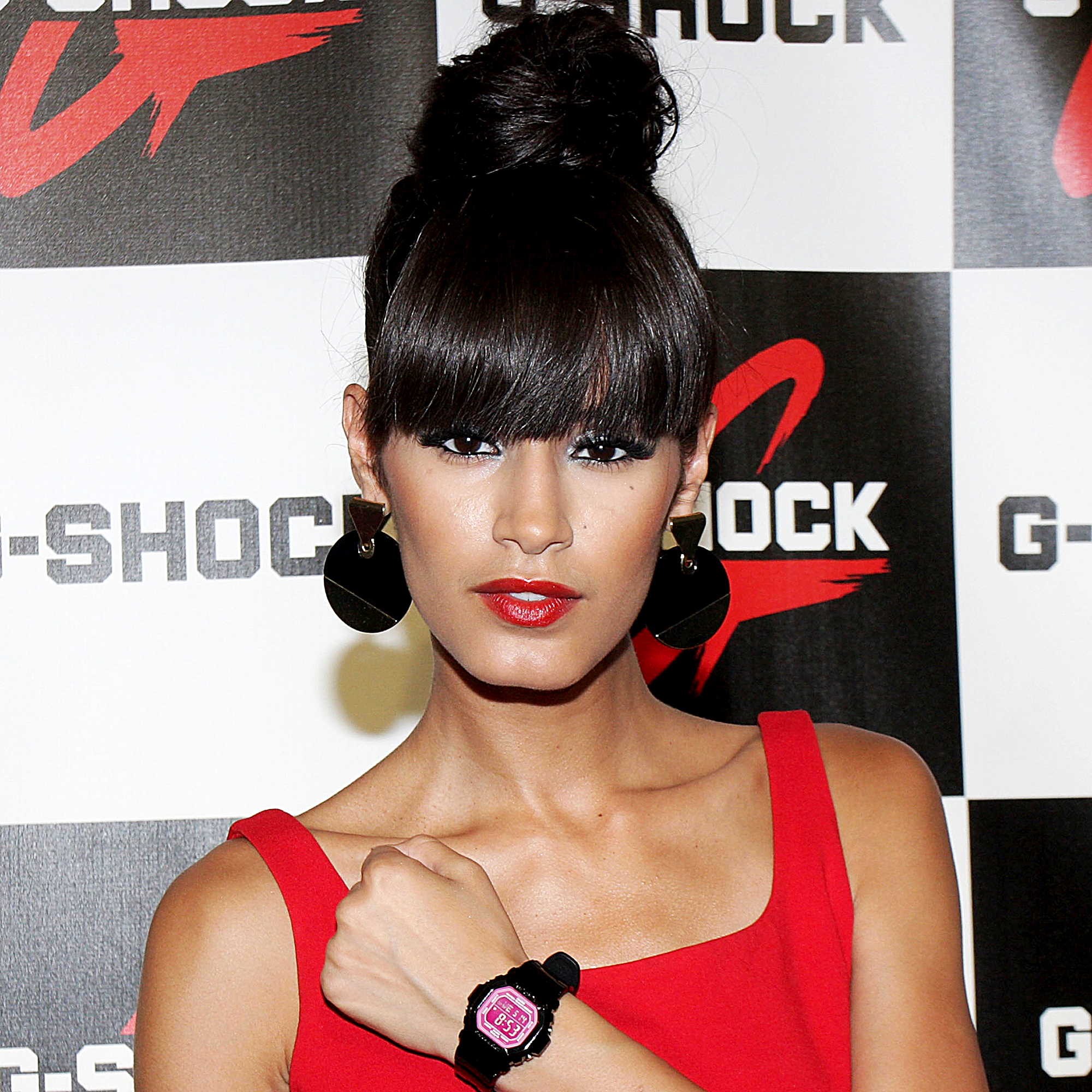 """Jaslene-Gonzalez - The America's Next Top Model winner said she was physically and mentally abused by her ex-boyfriend. """"It was such a dark moment in my life,"""" she said."""