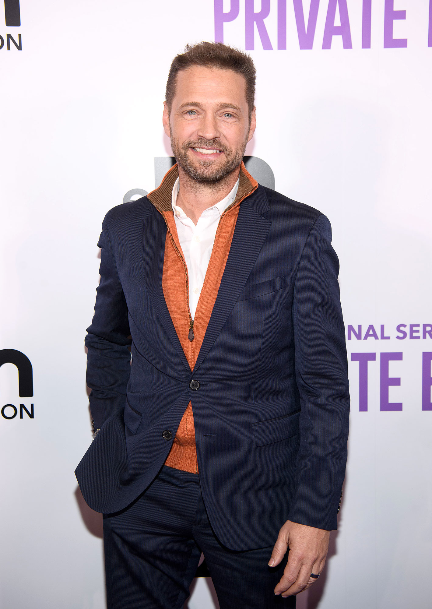 Gallery Overhaul 90210 Then and Now - Priestley, who has played Matt Shade on Global TV's Private Eyes since 2016, will be returning to his former zip code of 90210 when the series' six-episode quasi-reboot airs on Fox in the summer of 2019. He shares a daughter, Ava, and a son, Dashiell, with wife Naomi Lowde-Priestley, whom he married in 2005.