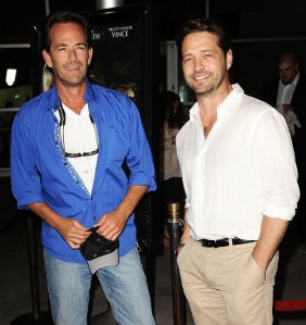 Jason Priestly Breaks Silence After Luke Perry Death