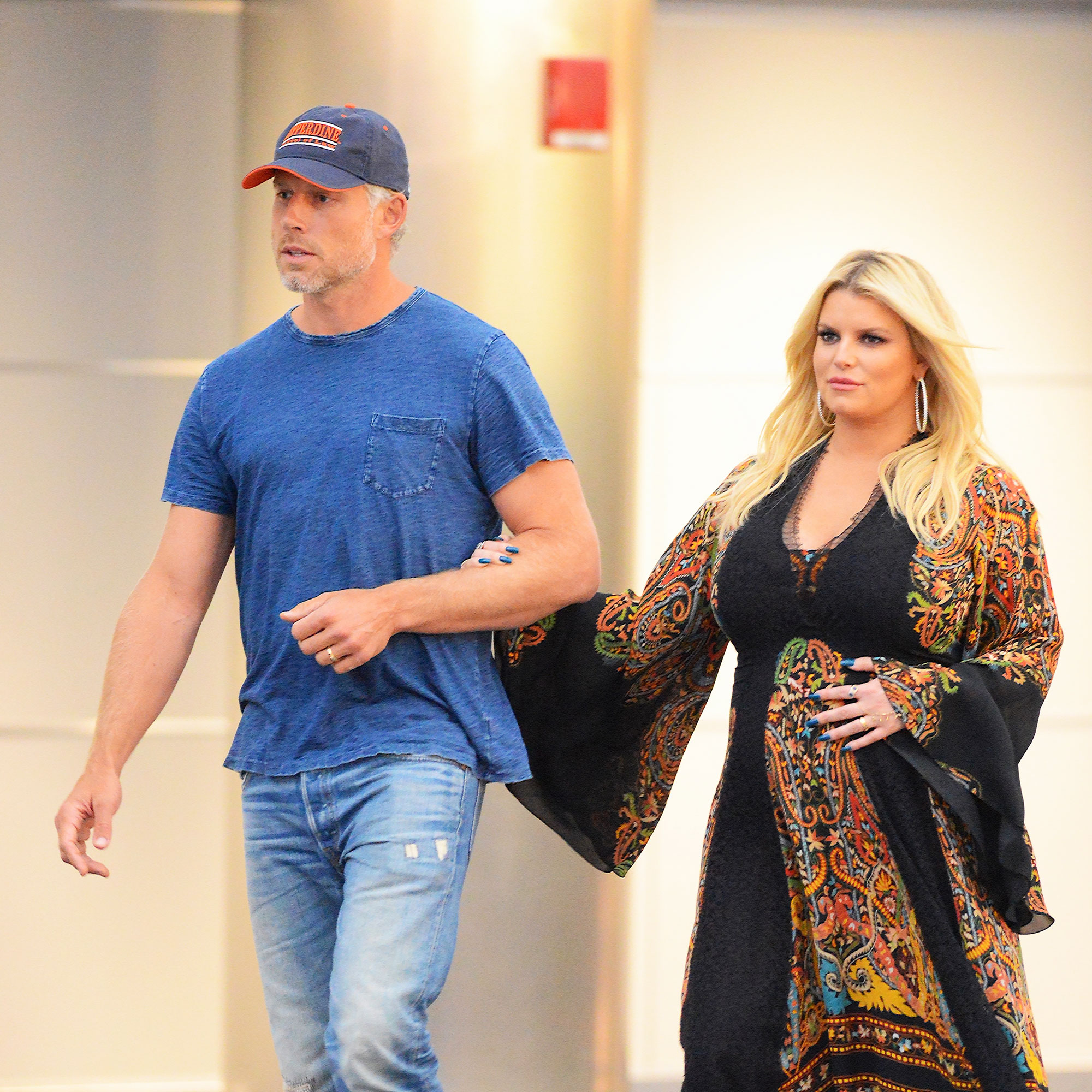 """Celebrity Babies of 2019 Jessica Simpson and husband Eric Johnson - The singer and her husband welcomed their third child together on March 19 after a September pregnancy announcement. """"Birdie Mae Johnson. 3.19.19. 10 Pounds 13 Ounces,"""" Simpson captioned her Instagram reveal."""