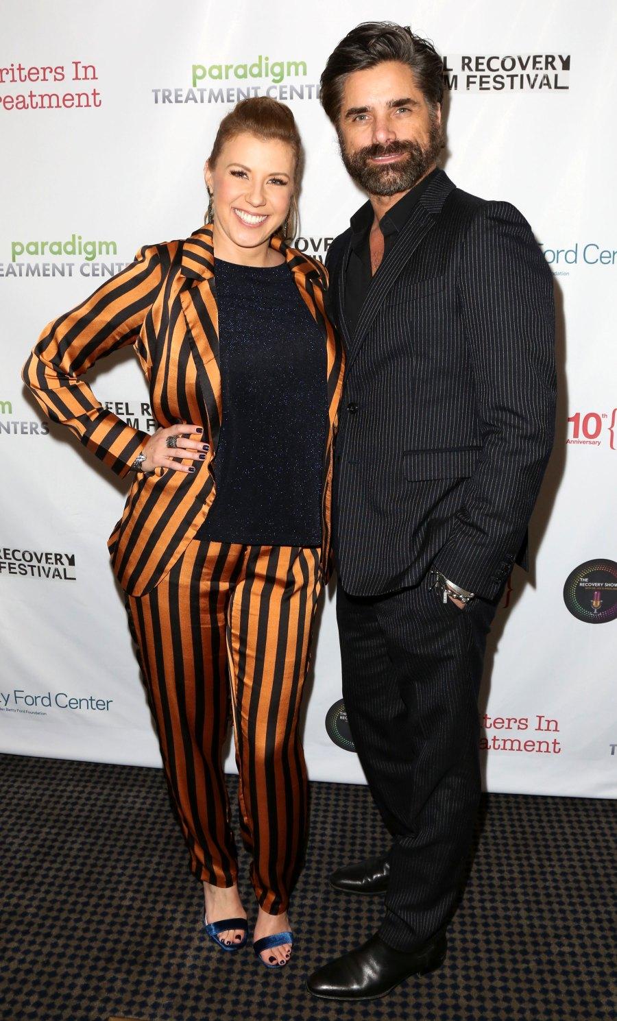 Full House's John Stamos and Jodie Sweetin