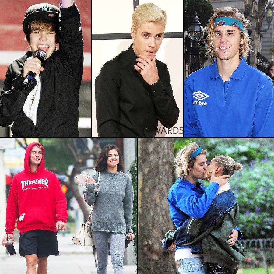 Justin Bieber Through The Years