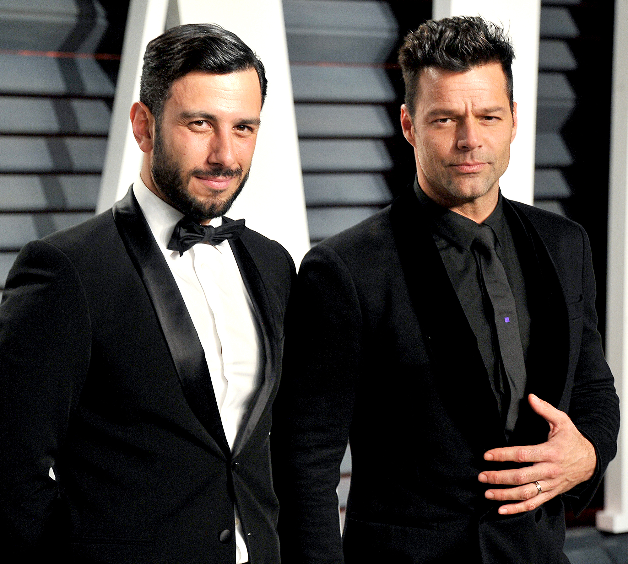 "Jwan-Yosef-and-Ricky-Martin - Martin met his now-husband, Yosef, ""on Instagram,"" the singer revealed on Andy Cohen 's SiriusXM radio show in February 2017. ""I'm an art collector and he's an artist … so I was scrolling and I was like, 'Who's this?' … And then I wrote to him,"" the ""She Bangs"" crooner explained. ""We were talking for, like, six months without me hearing his voice … And then one day I went to London and I met him. And it was game-over."""