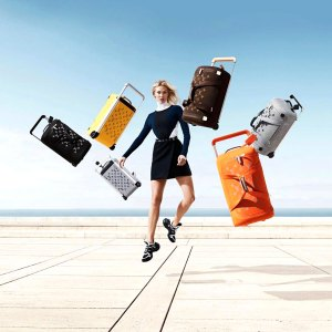 Karlie Kloss Is the Face of Louis Vuitton's Colorful New Soft Luggage Collection