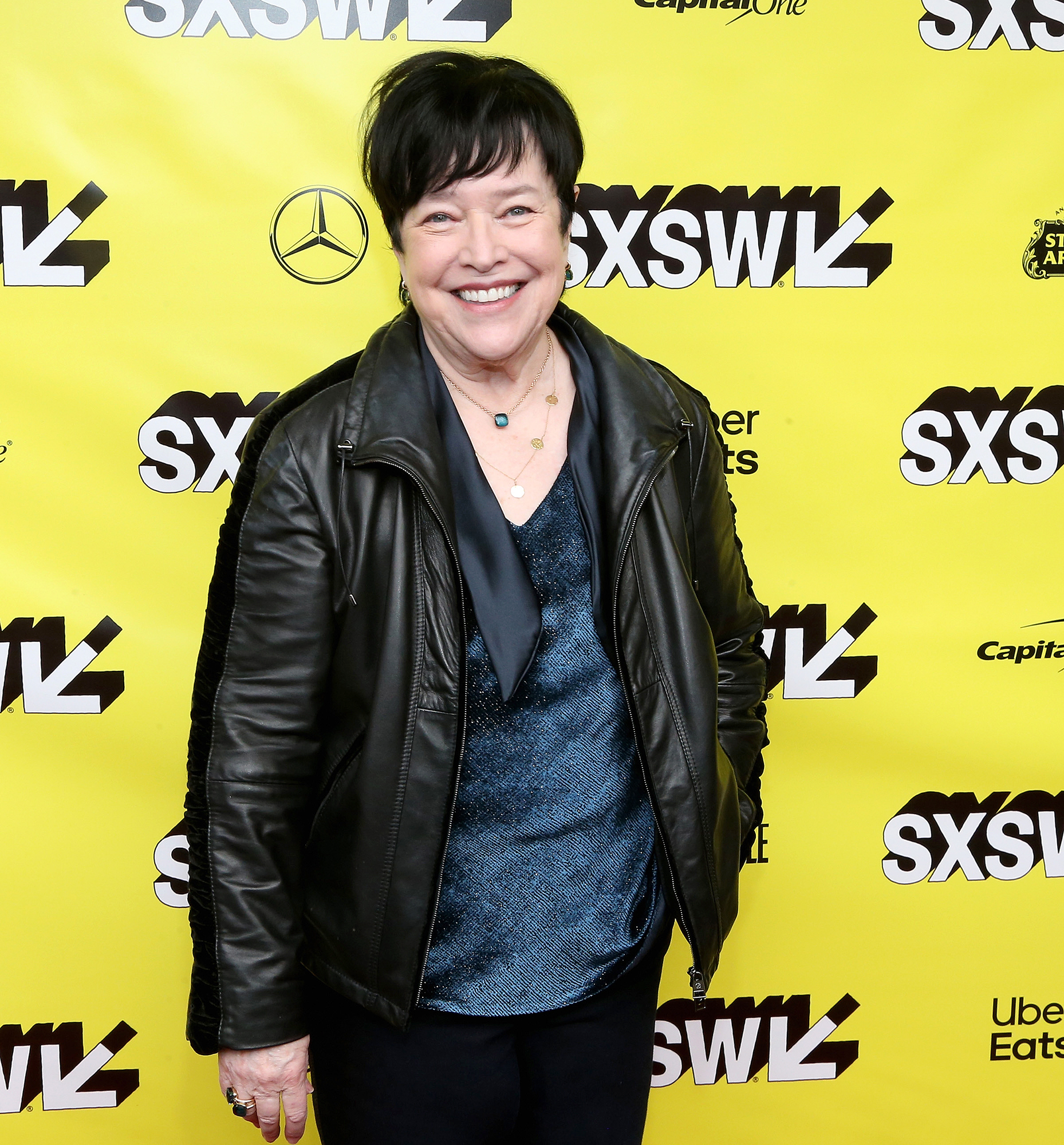 Kathy Bates Is Loving Life 60 Lbs Lighter - Kathy Bates attends the premiere of 'The Highwaymen' at the Paramount Theatre during the 2019 SXSW Conference And Festival on March 10, 2019 in Austin, Texas.