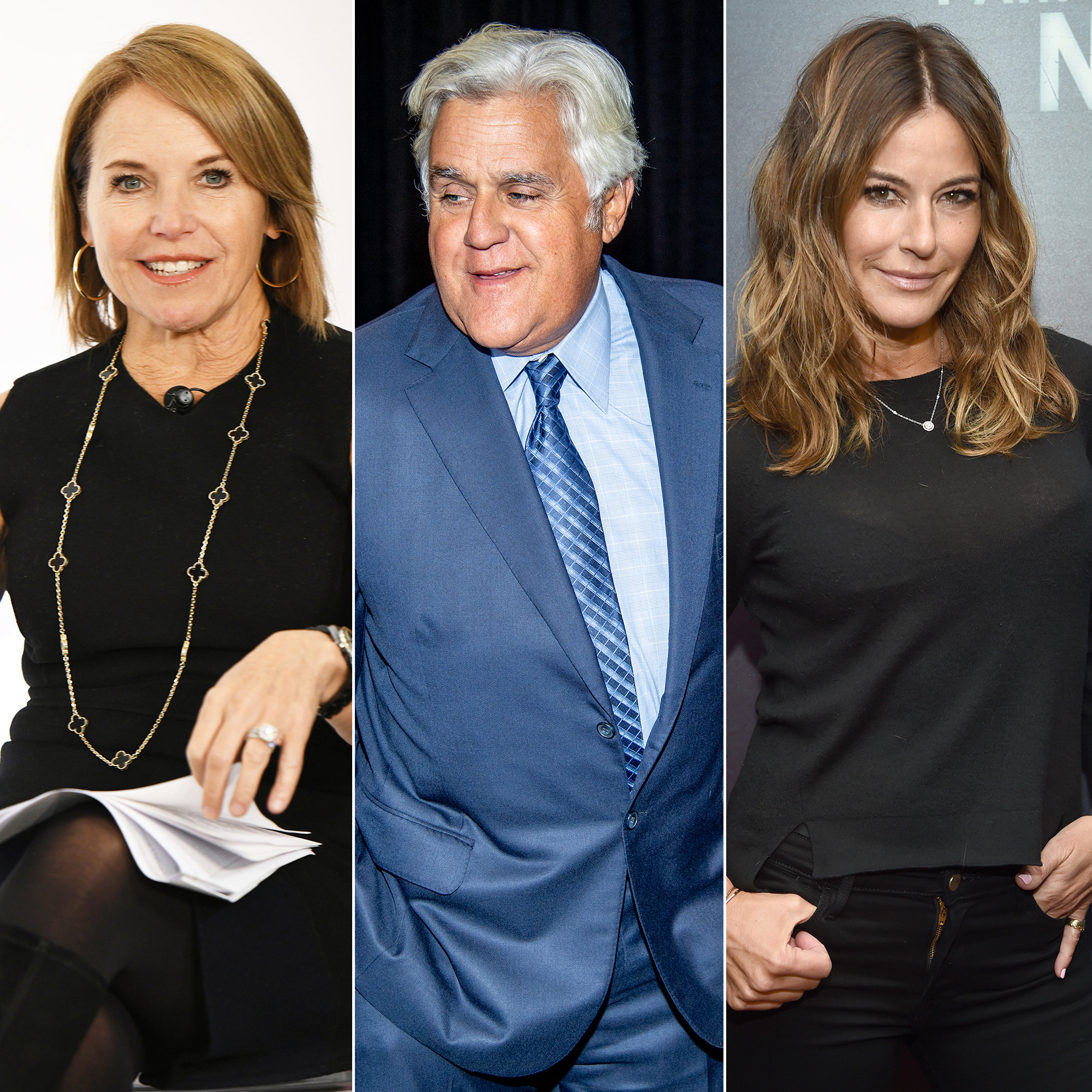 Katie Couric, Jay Leno and More Stars Still Reeling Over College Admissions Scandal - Katie Couric, Jay Leno and Kelly Bensimon.