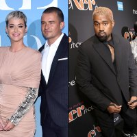 Katy Perry and Orlando Attend Kanye's Sunday Service