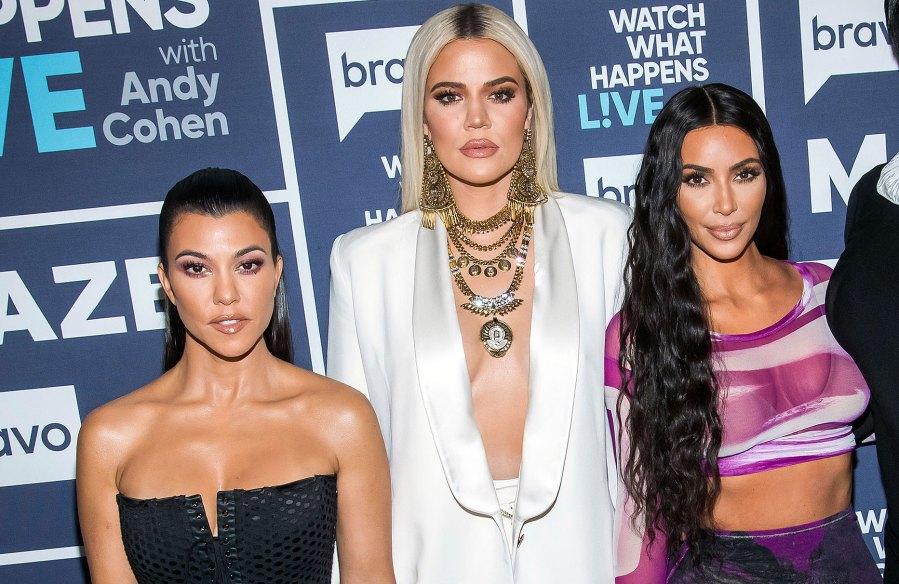 Khloe Kardashian Heads to Church With Kim, Kourtney, Kanye West and Kendall Jenner After Slamming Ex Tristan Thompson