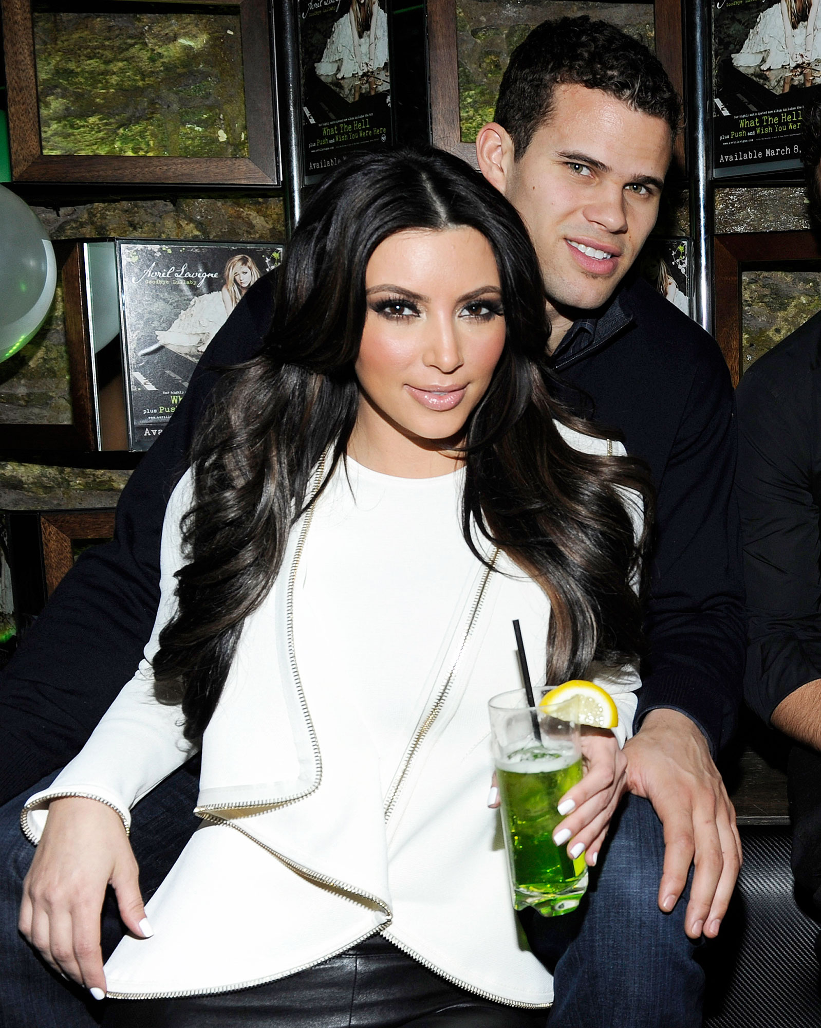 Kris Humphries Kim Kardashian Split Quotes - Kim Kardashian and Kris Humphries attends Onitsuka Tiger And RCA Records Present The Release Of Avril Lavigne's Goodbye Lullaby on March 8, 2011 in New York City.