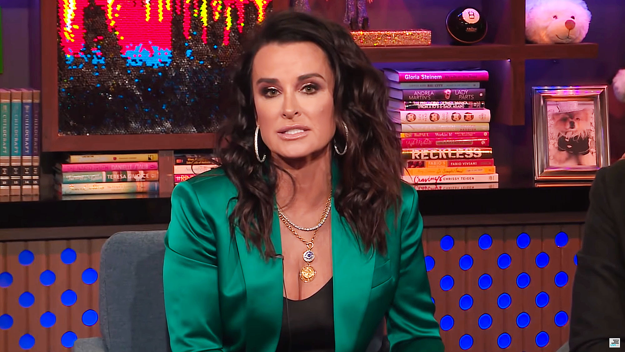 Kyle Richards Confused Lori Loughlin College Scam