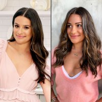 Lea Michele Shows Off New 'Sunlight Brunette' Hair Color