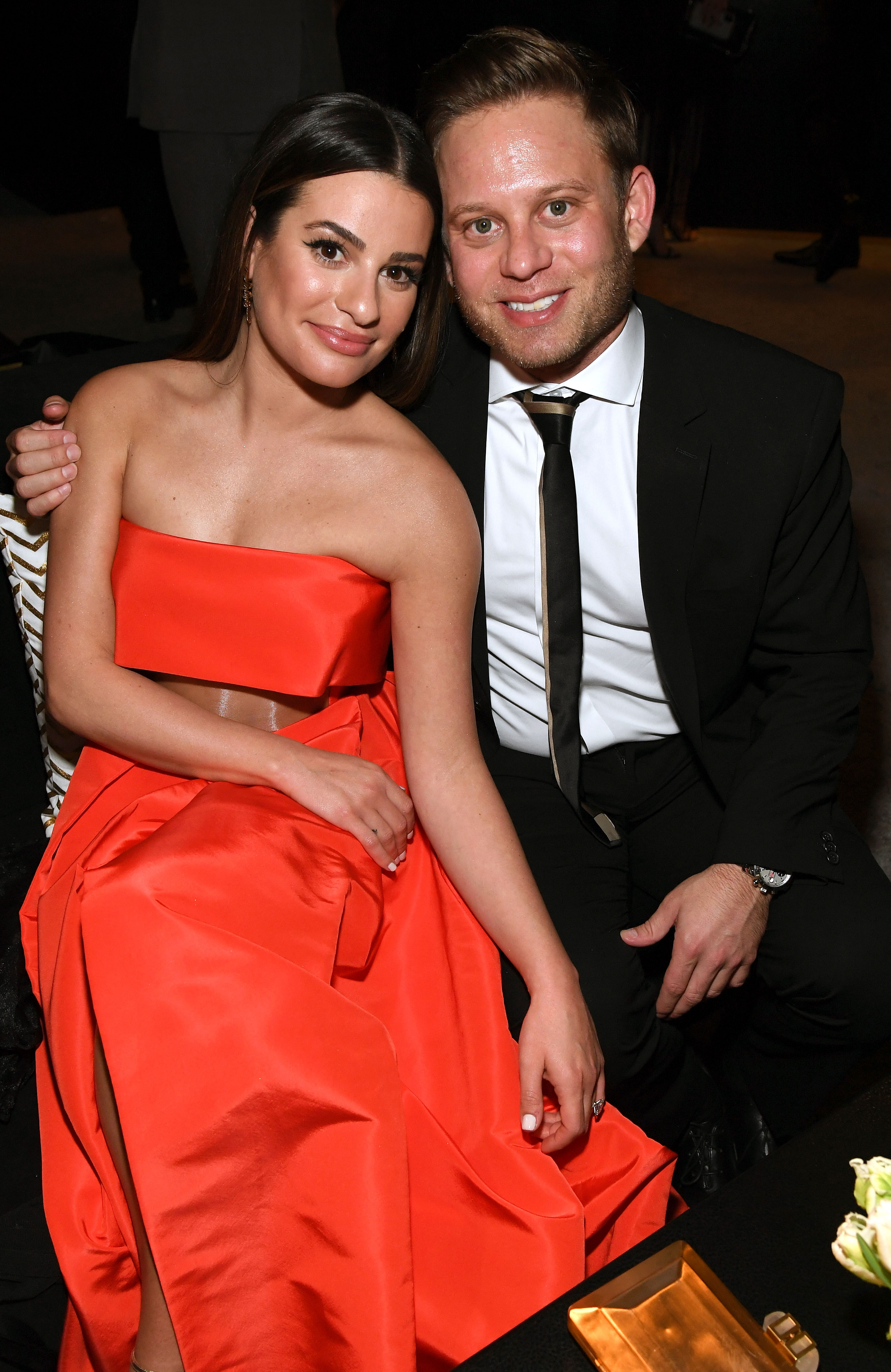 Lea Michele and Zandy Reich celebrity weddings of 2019 - The Glee alum wed the AYR president in Napa, California, on March 9. In attendance for the celebration were former costars and close pals Becca Tobin, Darren Criss and Jonathan Groff, among others.