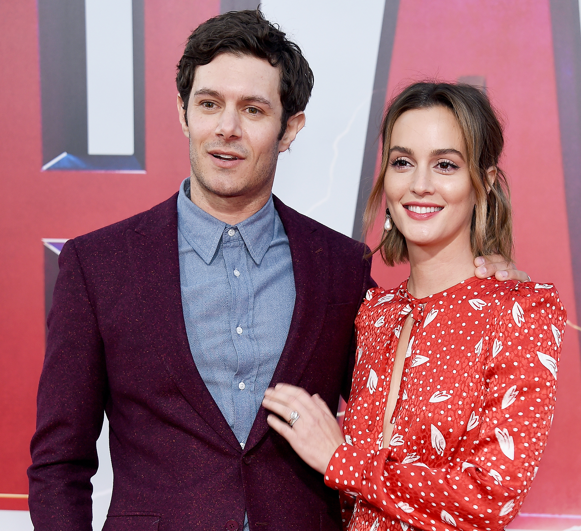"""Leighton Meester and Adam Brody Steal the Show on Their First Red Carpet in More Than 2 Years - The Monte Carlo actress shared how she connected to her Single Parents alter-ego . """"I think the character is similar to me in a lot of ways and being a mom and being able to come in and have those experiences and bring it to my work is actually really important to me and it kinda feels good,"""" she told Us in August 2018."""