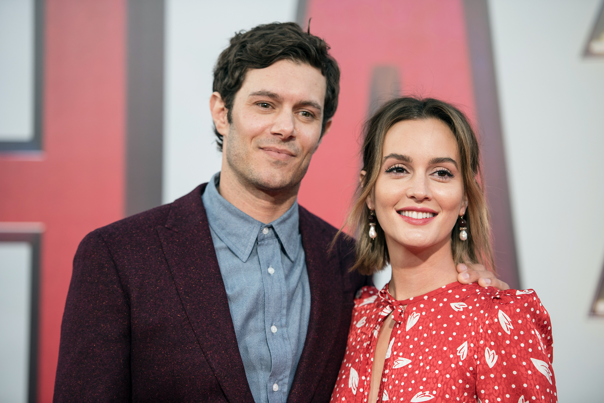 Leighton Meester and Adam Brody Steal the Show on Their First Red Carpet in More Than 2 Years - Leighton Meester and Adam Brody attend Warner Bros. Pictures And New Line Cinema's World Premiere Of 'SHAZAM!' at TCL Chinese Theatre on March 28, 2019 in Hollywood, California.