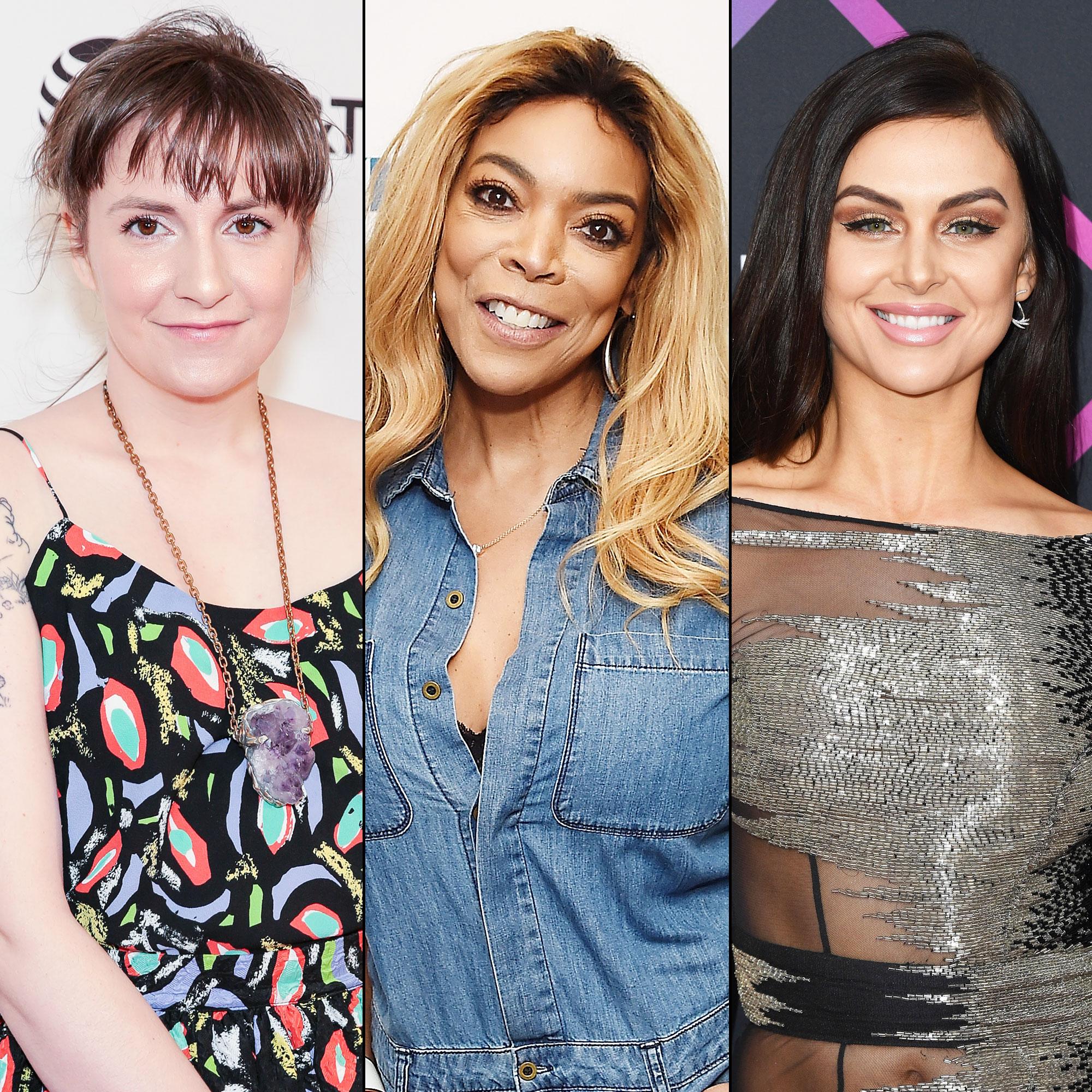 Lena Dunham Praises Sober Queens Wendy Williams Lala Kent