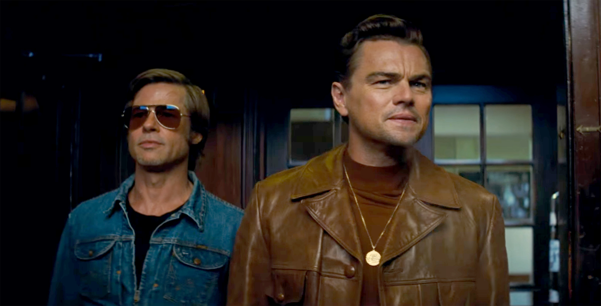 Leonardo DiCaprio and Brad Pitt in 'Once Upon a Time in Hollywood'