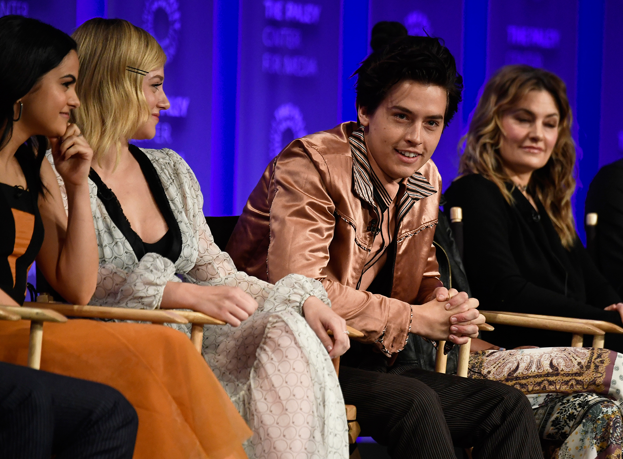 """Lili Reinhart and Cole Sprouse Relationship Timeline - Sprouse and Reinhart publicly addressed their relationship for the first time in March 2018 after a fan asked, """"Are you dating,"""" during a Q&A at PaleyFest L.A. While the actor gave a big grin and replied, """"No comment,"""" Reinhart remained silent."""