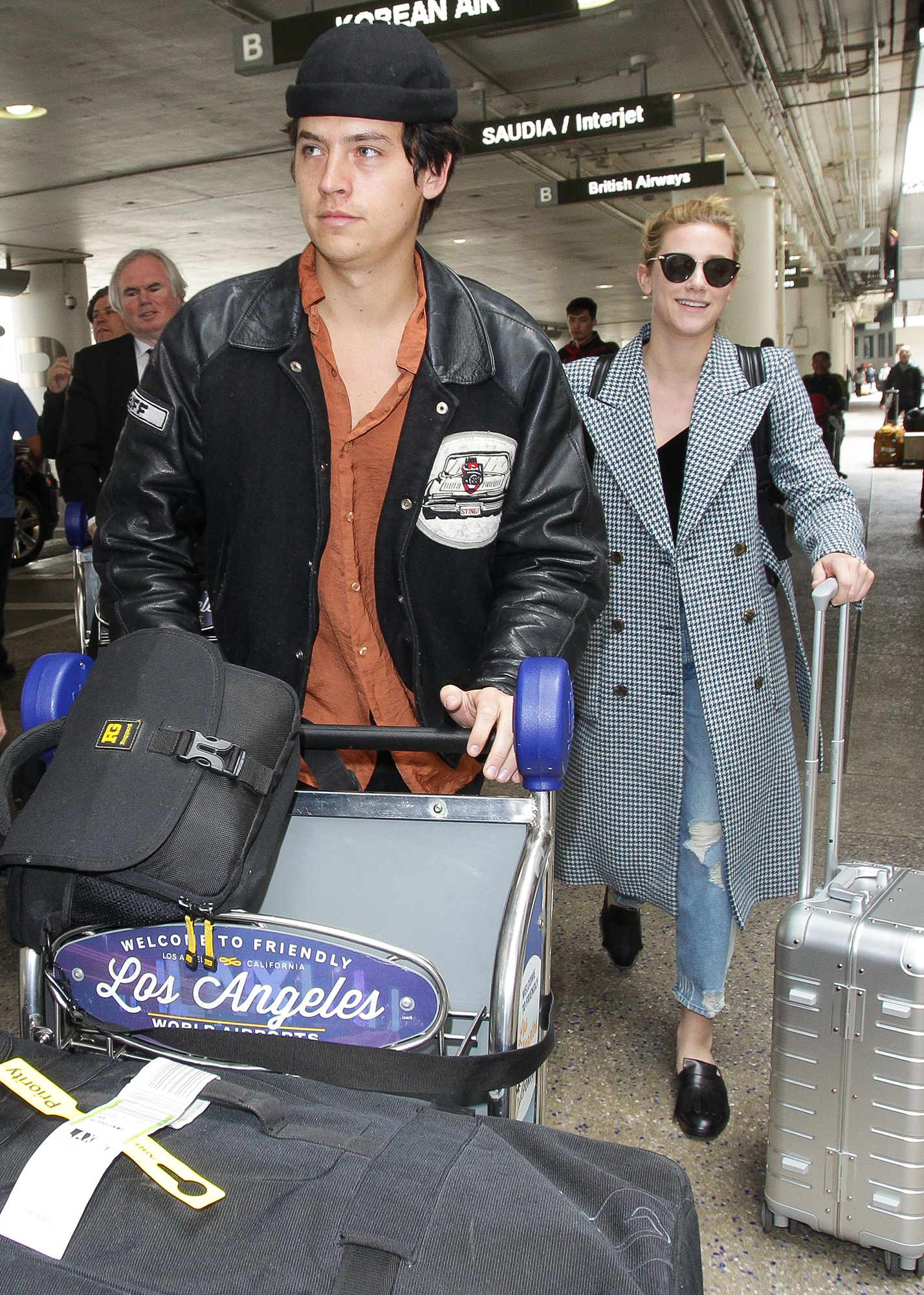 Lili Reinhart and Cole Sprouse Relationship Timeline - The twosome packed on the PDA during a trip to Paris in April 2018. Later that month, they were seen enjoying a trip to Mexico.