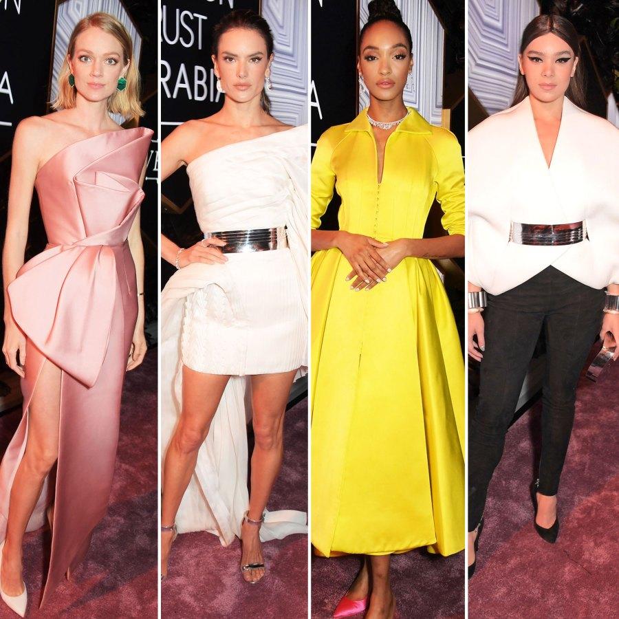 Lindsay Ellingson, Alessandra Ambrosio, Jourdan Dunn and Hailee Steinfeld The Best Looks From the Fashion Trust Arabia Prize Awards