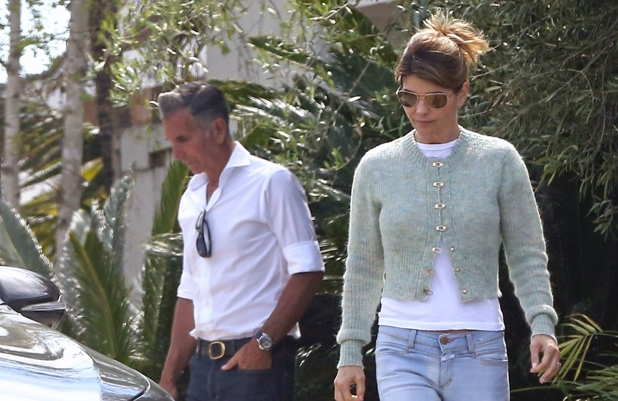 Lori Loughlin Appears Stress With Husband Mossimo Amid College Scandal