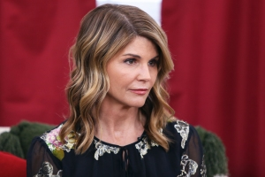Lori Loughlin Plays Coy When Asked About College Scandal After Leaving Yoga in Los Angeles