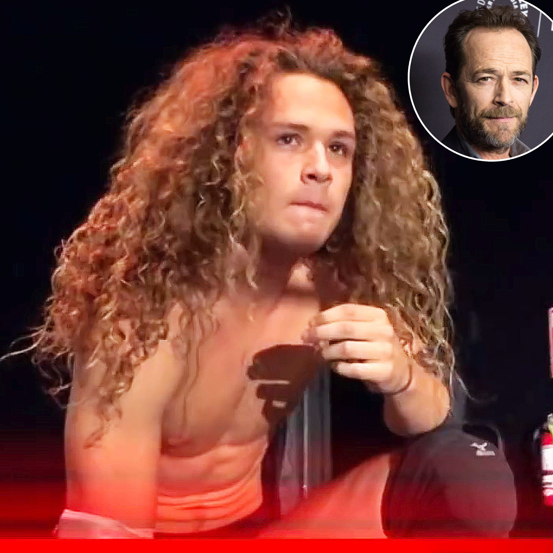 Luke Perry Dead Wrestler Son Jack Drops Out Of Show
