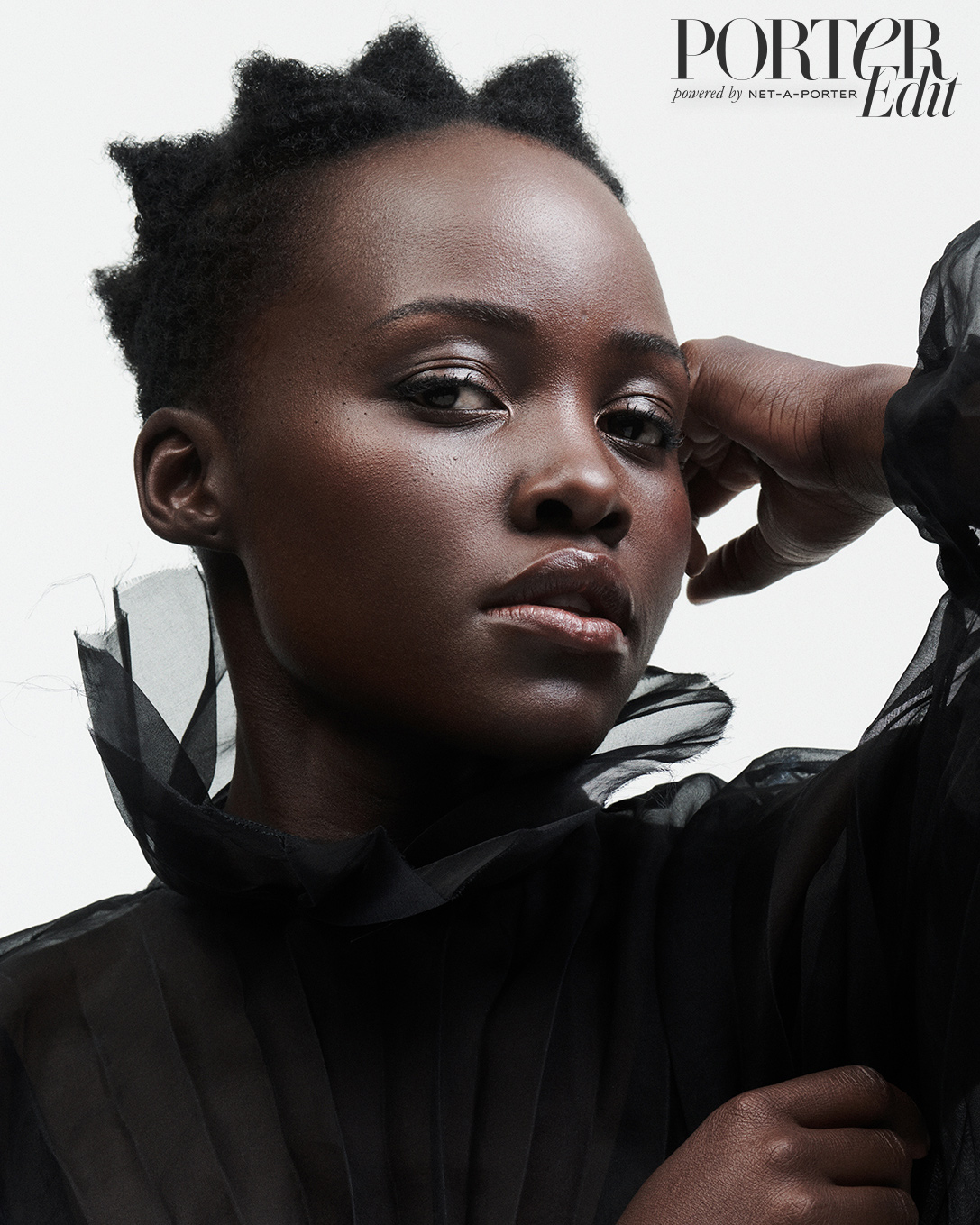 Lupita Nyong'o: There 'Was an Intimacy' With Jared Leto - Lupita Nyong'o wears a dress by Valentino.
