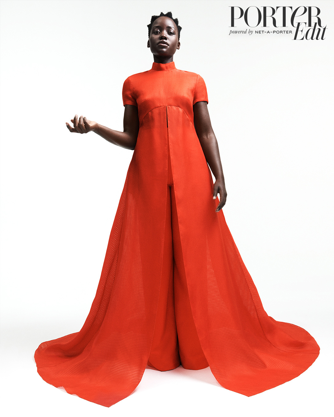 Lupita Nyong'o: There 'Was an Intimacy' With Jared Leto - Lupita Nyong'o wears top and pants by Brandon Maxwell.