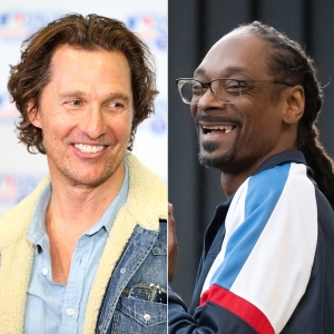 Matthew McConaughey 'Rapped for 13 Hours Straight' After Accidentally Smoking Weed With Snoop Dogg