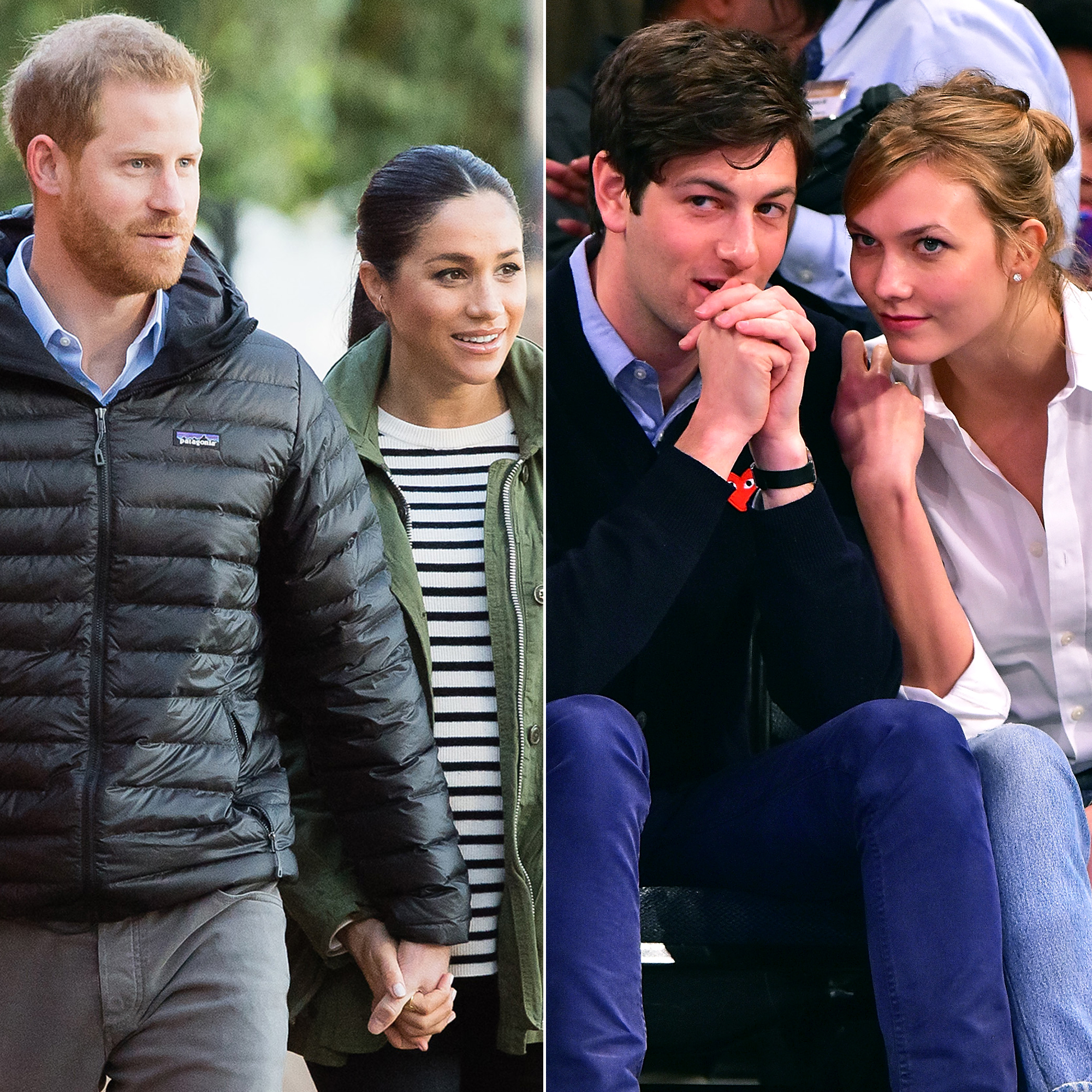 Meghan Markle, Karlie Kloss and More Celebrities Who've Married Into Political Families - Prince Harry, Duke of Sussex with Meghan, Duchess of Sussex and Joshua Kushner with Karlie Kloss.