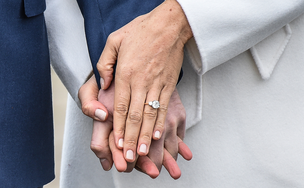 Meghan Markle Ring Closeup