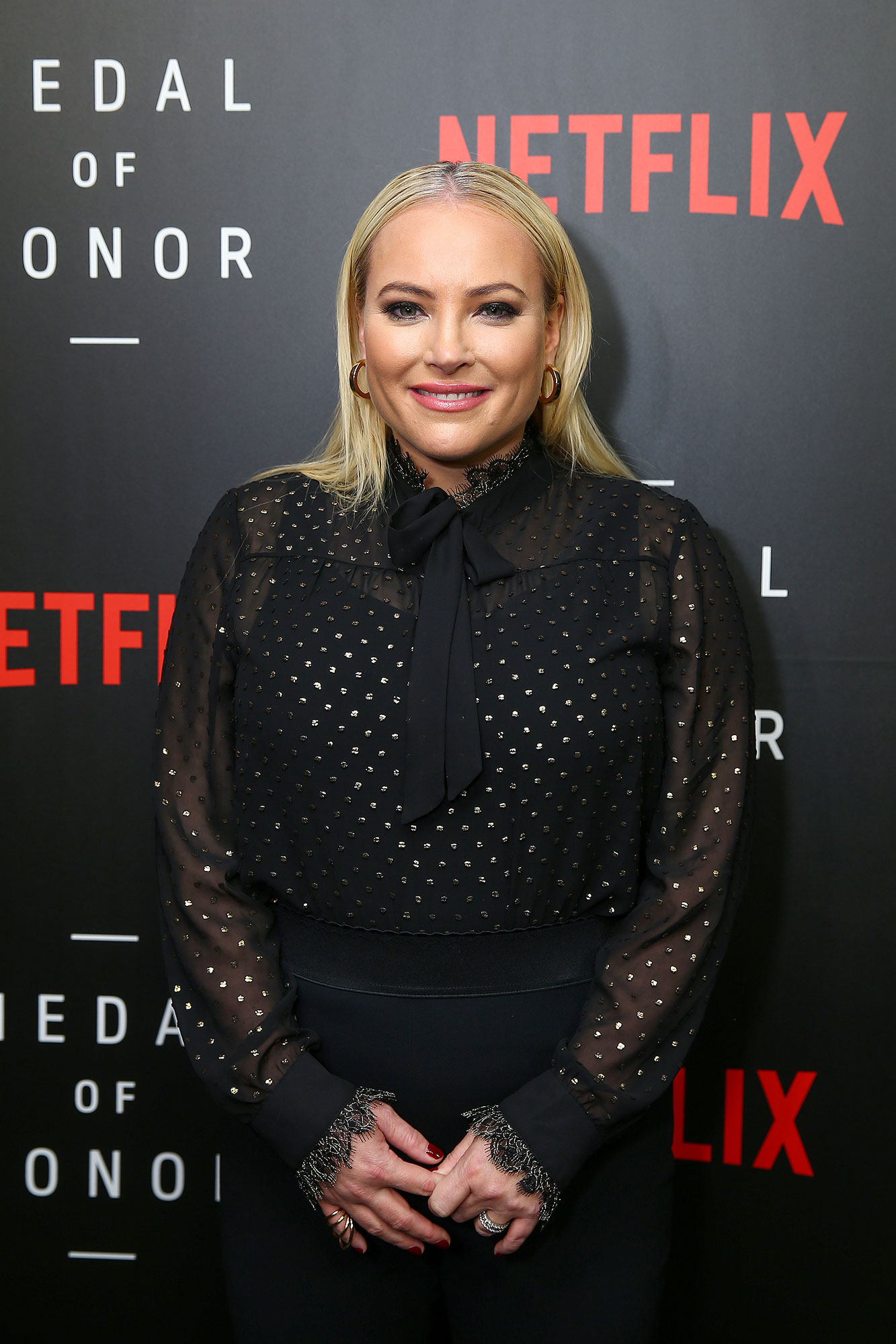Meghan McCain Slams Denise McAllister Over 'The View' Diss - Meghan McCain, Co-Host of 'The View', at the Netflix 'Medal of Honor' screening and panel discussion at the US Navy Memorial Burke Theater on November 13, 2018 in Washington, DC.