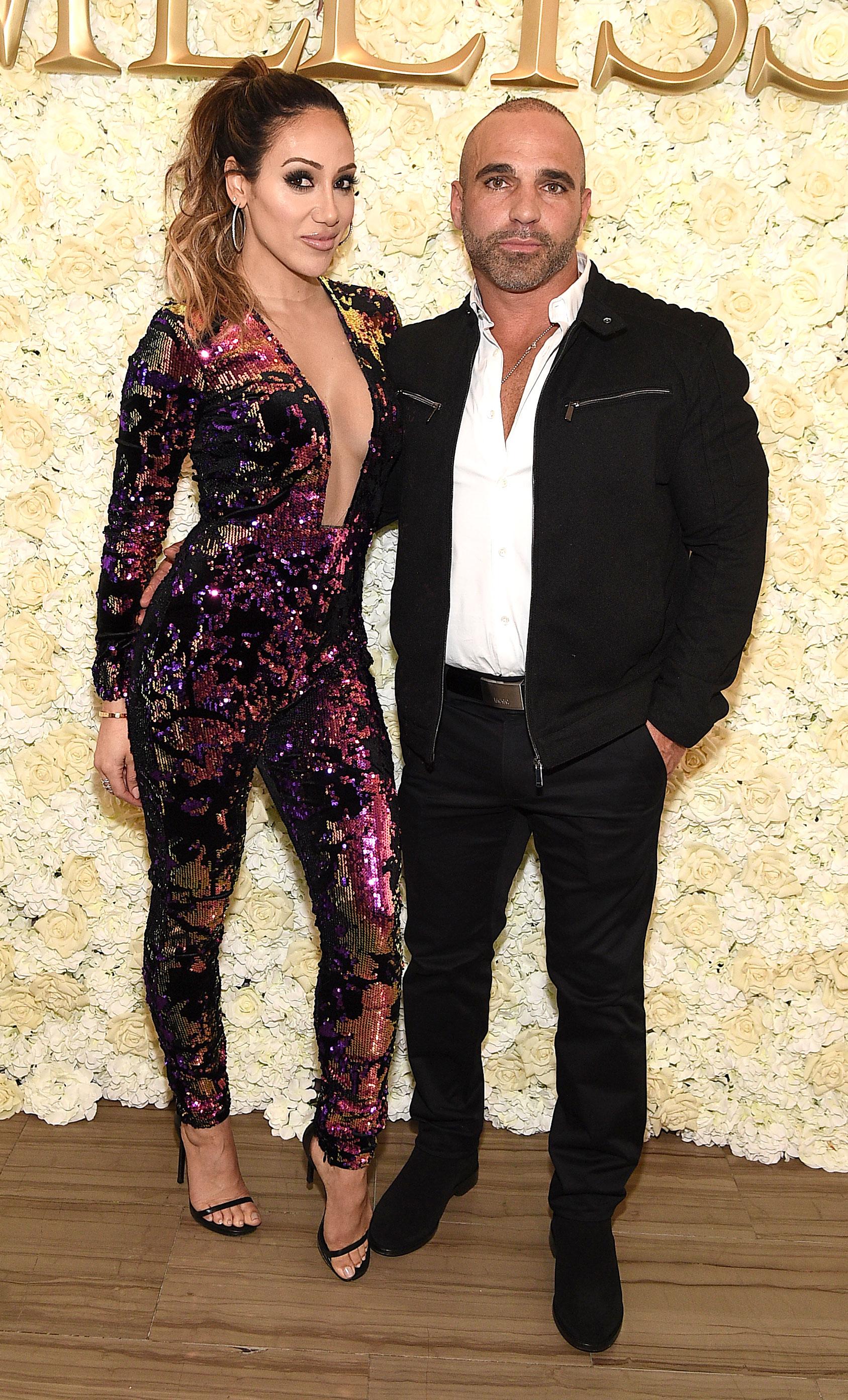 Melissa and Joe Gorga Shade Danielle Staub's 21st Engagement - Melissa Gorga and Joe Gorga attend Melissa Gorga's 40th Birthday at Tribeca 360 on March 28, 2019 in New York City.