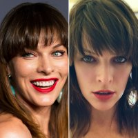 Milla Jovovich's Choppy Fringe Is One of Our Favorite Cuts of 2019