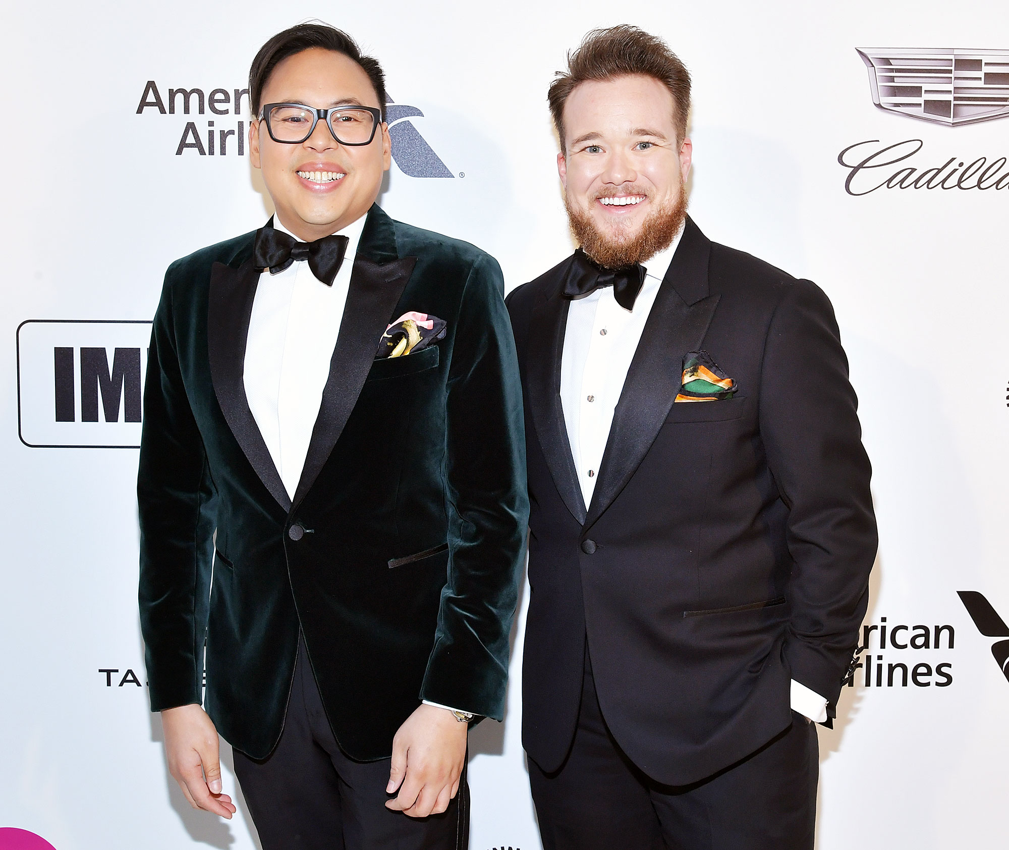 Superstore Cast Nico Santos Boyfriend Survivor Alum Zeke Smith Amazing Partner - Nico Santos and Zeke Smith attend the 27th annual Elton John AIDS Foundation Academy Awards Viewing Party on February 24, 2019 in West Hollywood, California.