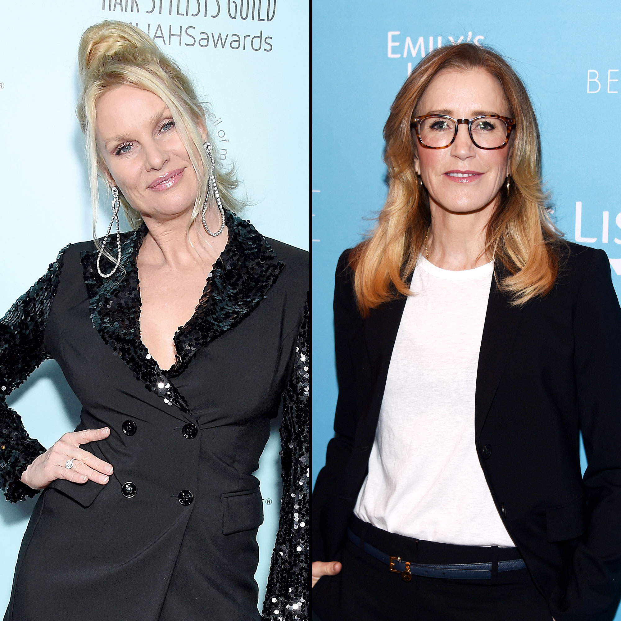 Nicollette Sheridan Slams Former Costar Felicity Huffman's College Scandal - Nicollette Sheridan and Felicity Huffman