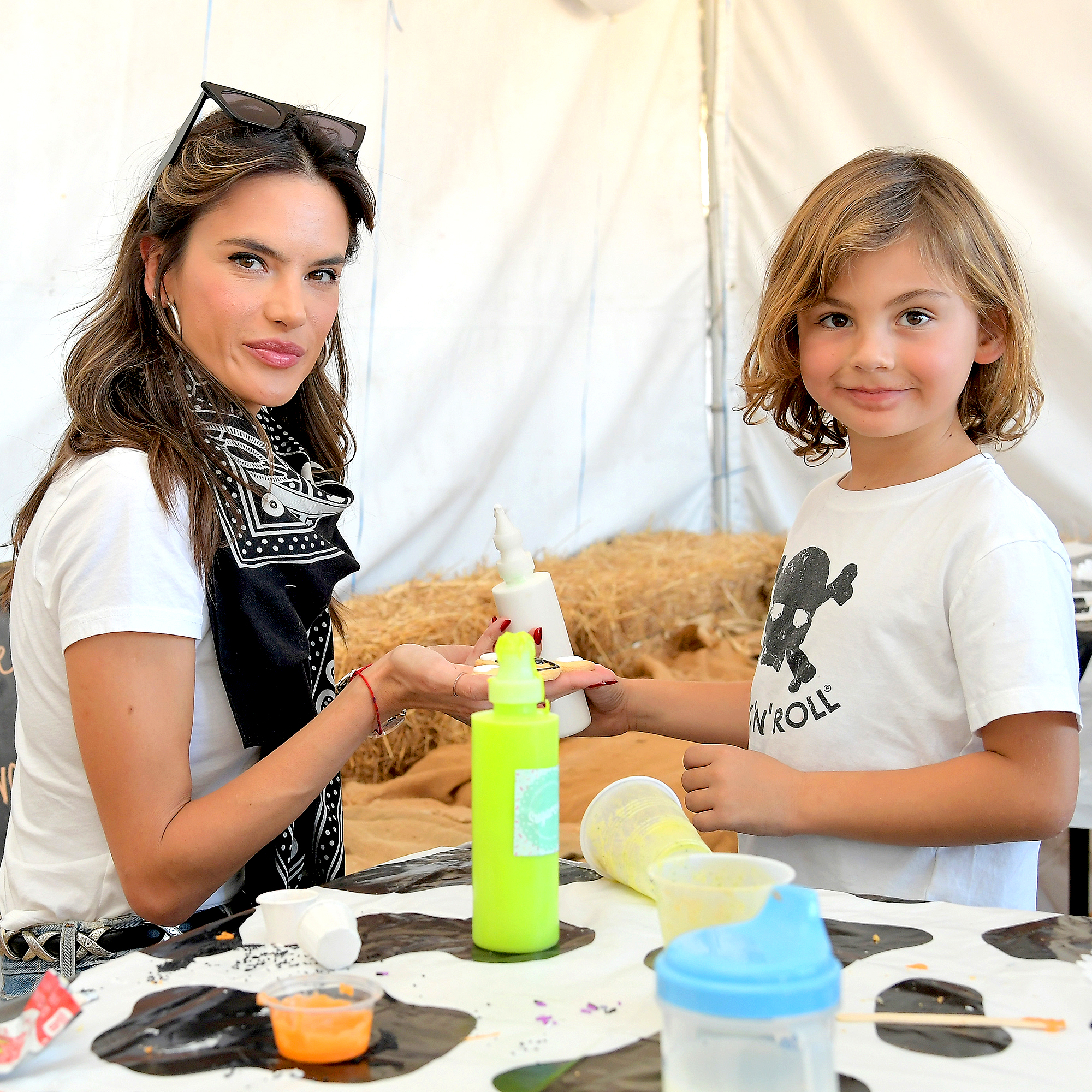 Noah-Phoenix-Ambrosio-Mazur-Alessandra-Ambrosio - Alessandra Ambrosio gave her son the middle name Phoenix when she and her ex-fiancé, Jamie Mazur , welcomed him in 2012.