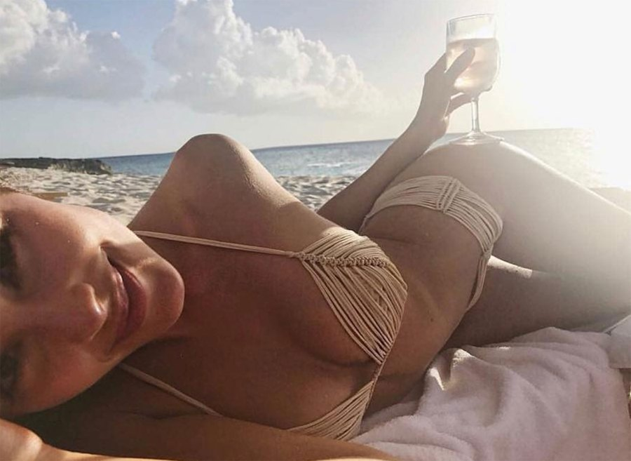 Olivia Culpo Brings the Meaning of 'String Bikini' to a Whole New Level