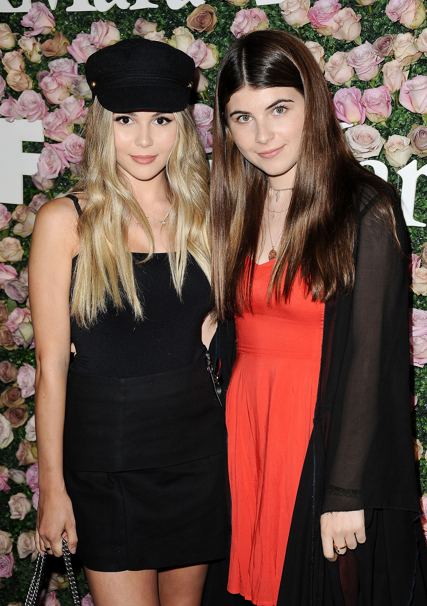 Lori Loughlin's Daughters Olivia Jade and Bella Giannuli Won't Return to USC: Report - Olivia Jade Giannulli and Bella Giannulli attend Max Mara and Vanity Fair's celebration of Women In Film's Face of the Future Award recipient, Zoey Deutch at Chateau Marmont on June 12, 2017 in Los Angeles, California.