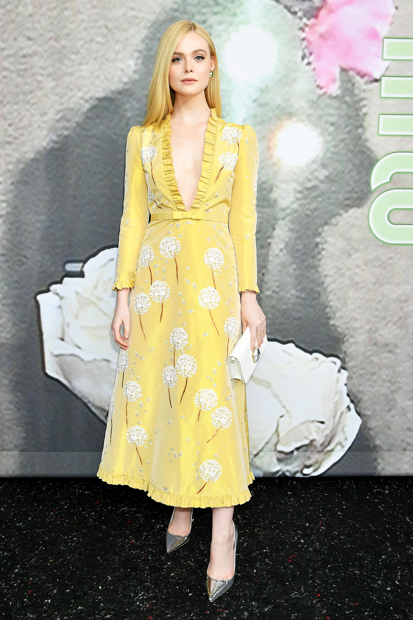 Elle Fanning Stars Continue to Wow on Day 9 of Paris Fashion Week - Elle Fanning attends the Miu Miu show as part of the Paris Fashion Week Womenswear Fall/Winter 2019/2020 on March 05, 2019 in Paris, France.