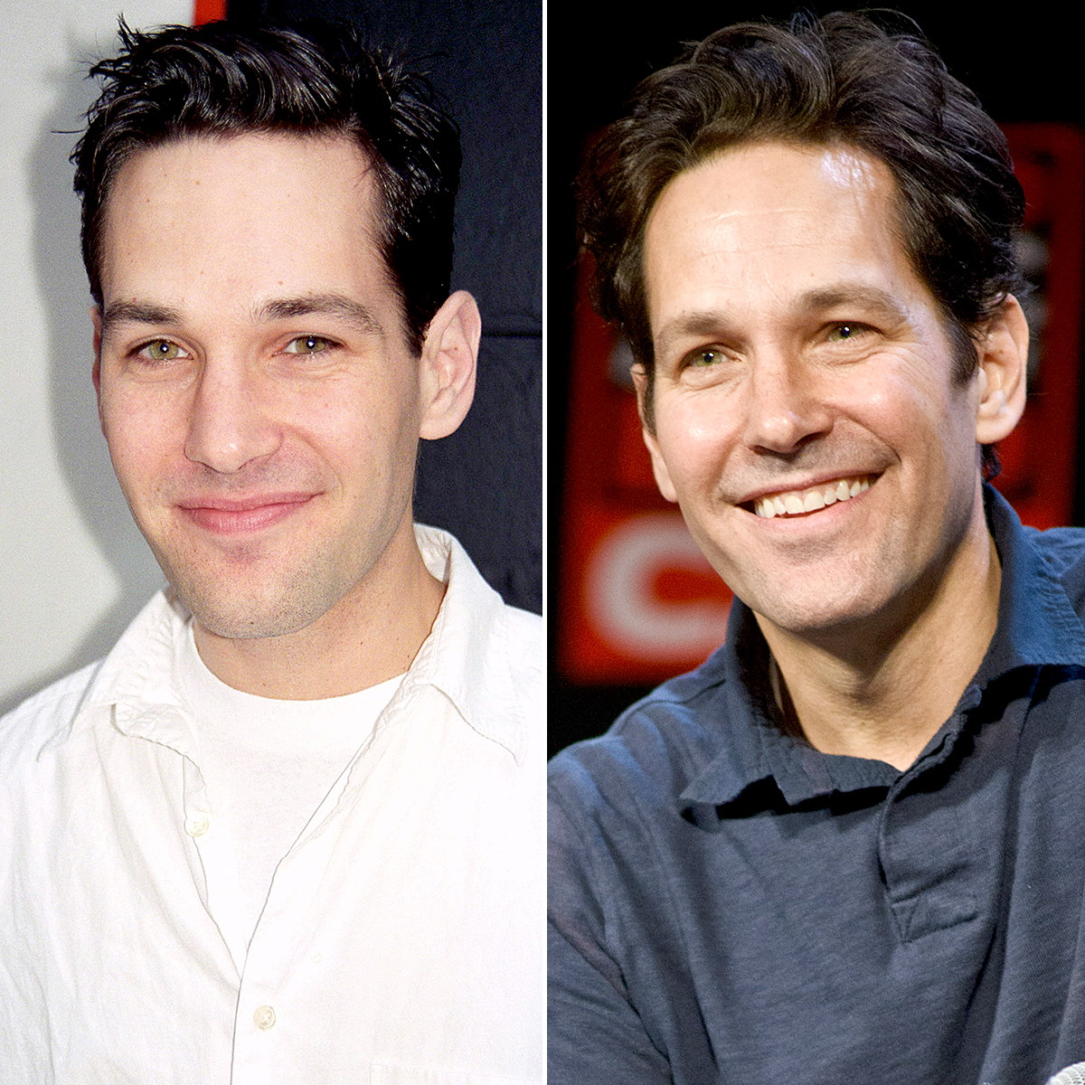 Paul-Rudd-youthful-skin - Paul Rudd (1997) and now (2019)