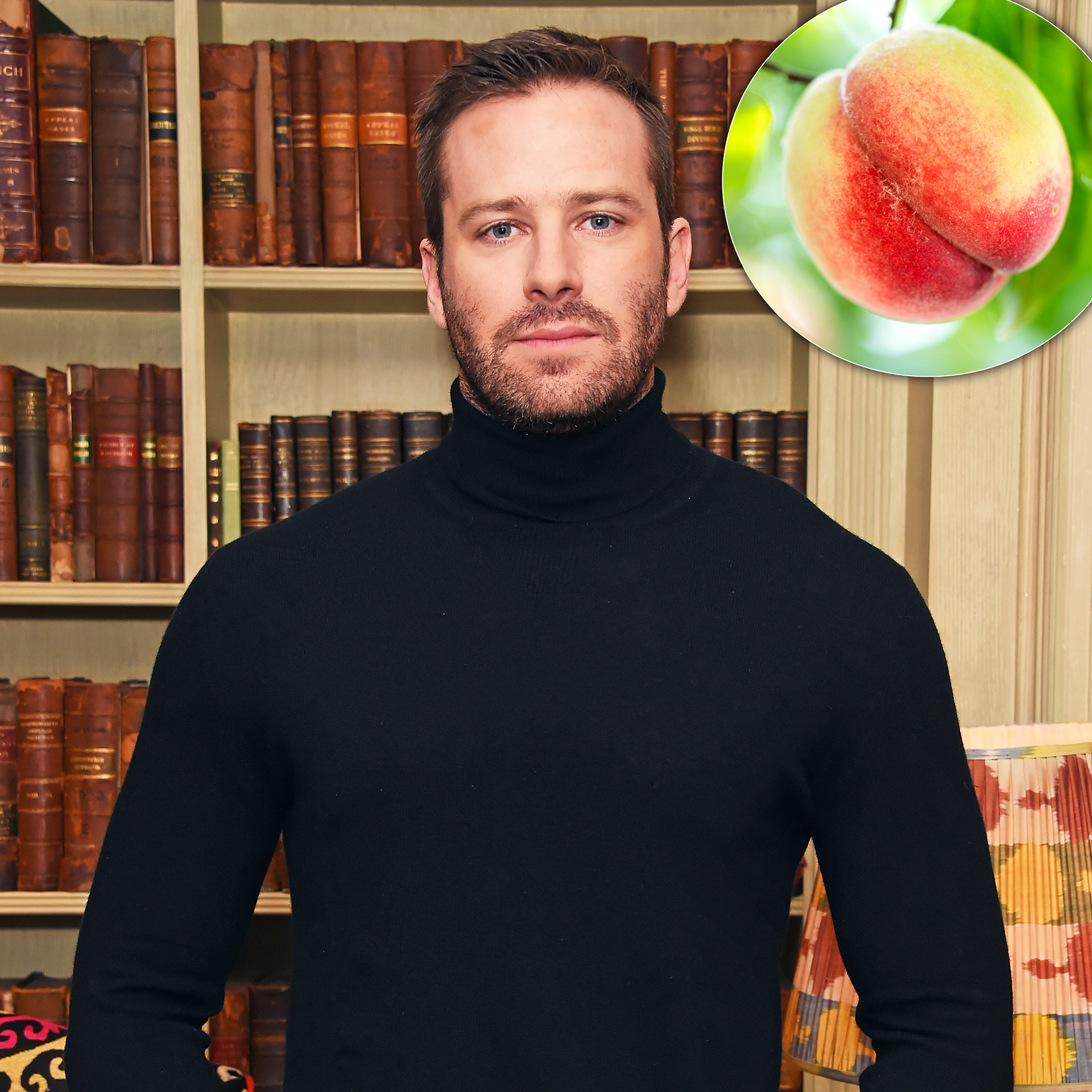 People Won't Stop Giving Armie Hammer Peaches After That 'Call Me By Your Name' Scene - Armie Hammer