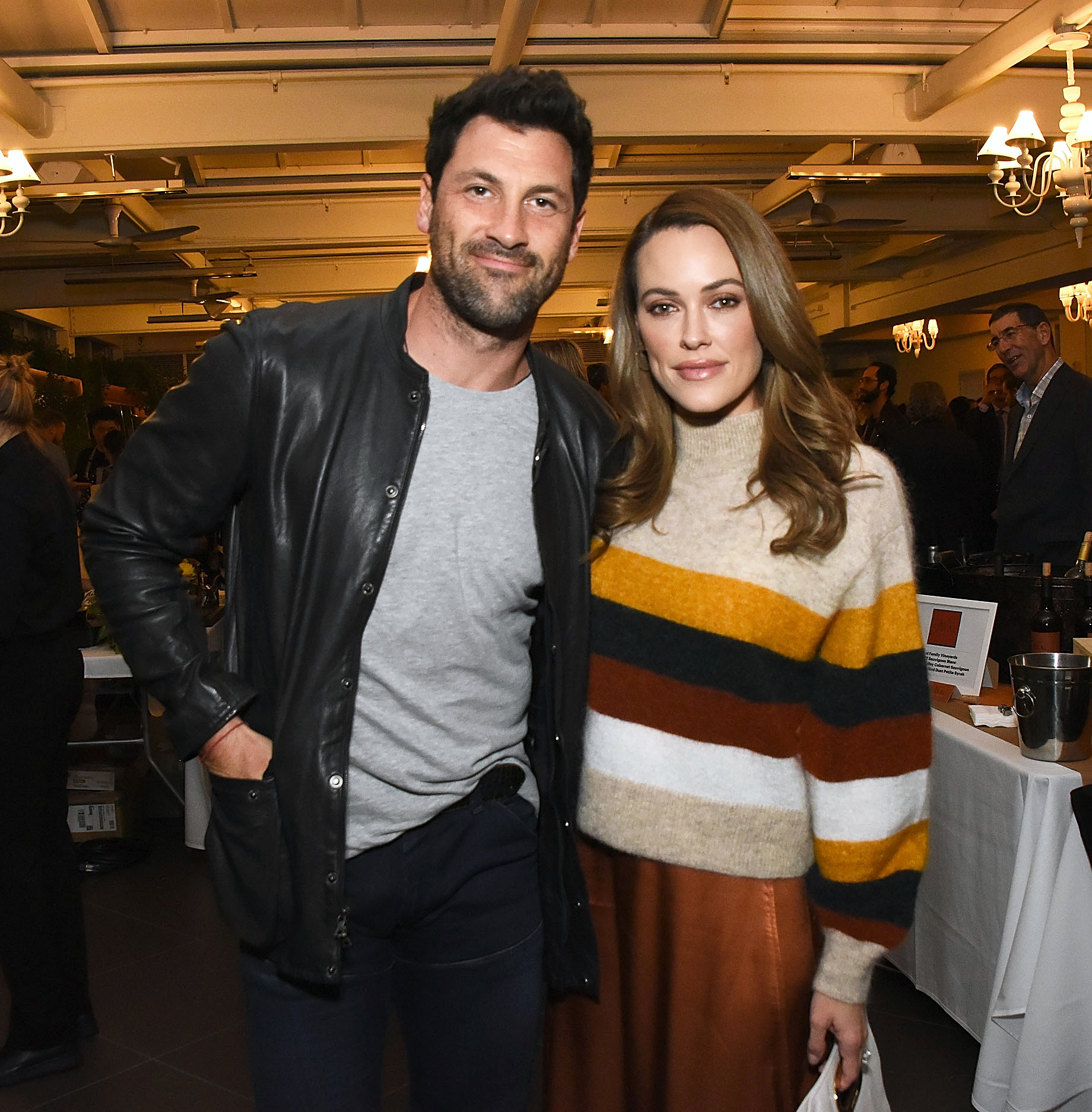 Peta Murgatroyd and Maksim Chmerkovskiy Grew Even Closer After Becoming Parents - Maks Chmerkovskiy and Peta Murgatroyd attend the March of Dimes Signatures Chefs Auction Los Angeles on October 11, 2018 in Beverly Hills, California.
