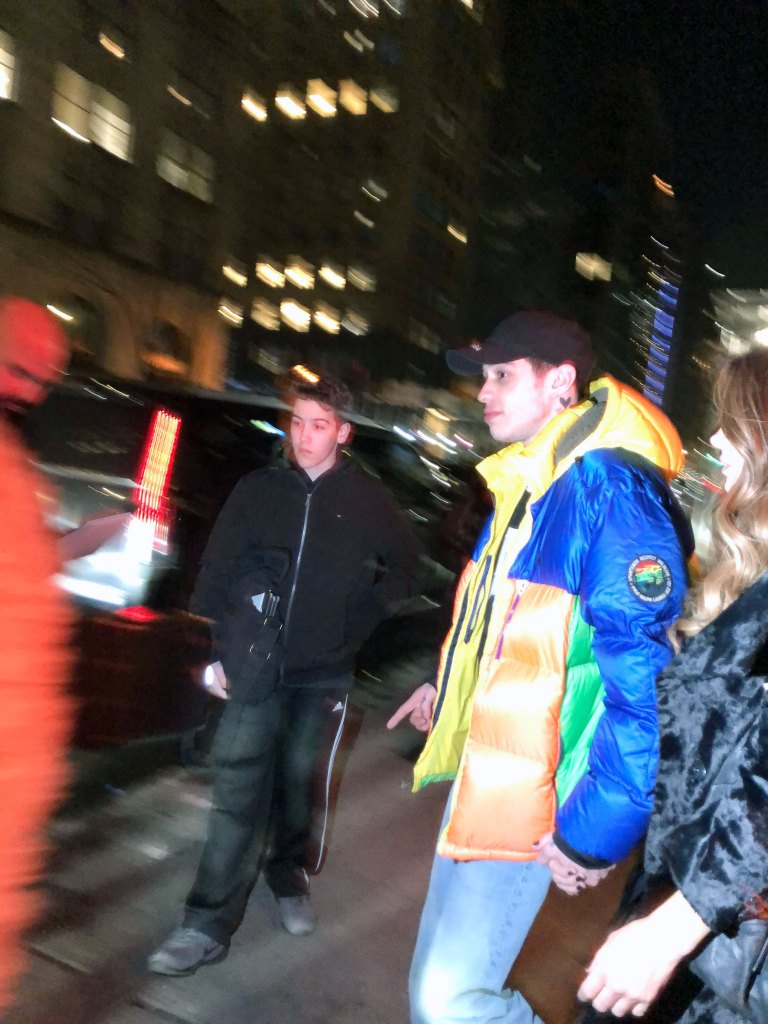 Pete Davidson and Kate Beckinsale Hold Hands at SNL Afterparty-Davidson and Kate Beckinsale Hold Hands at SNL Afterparty