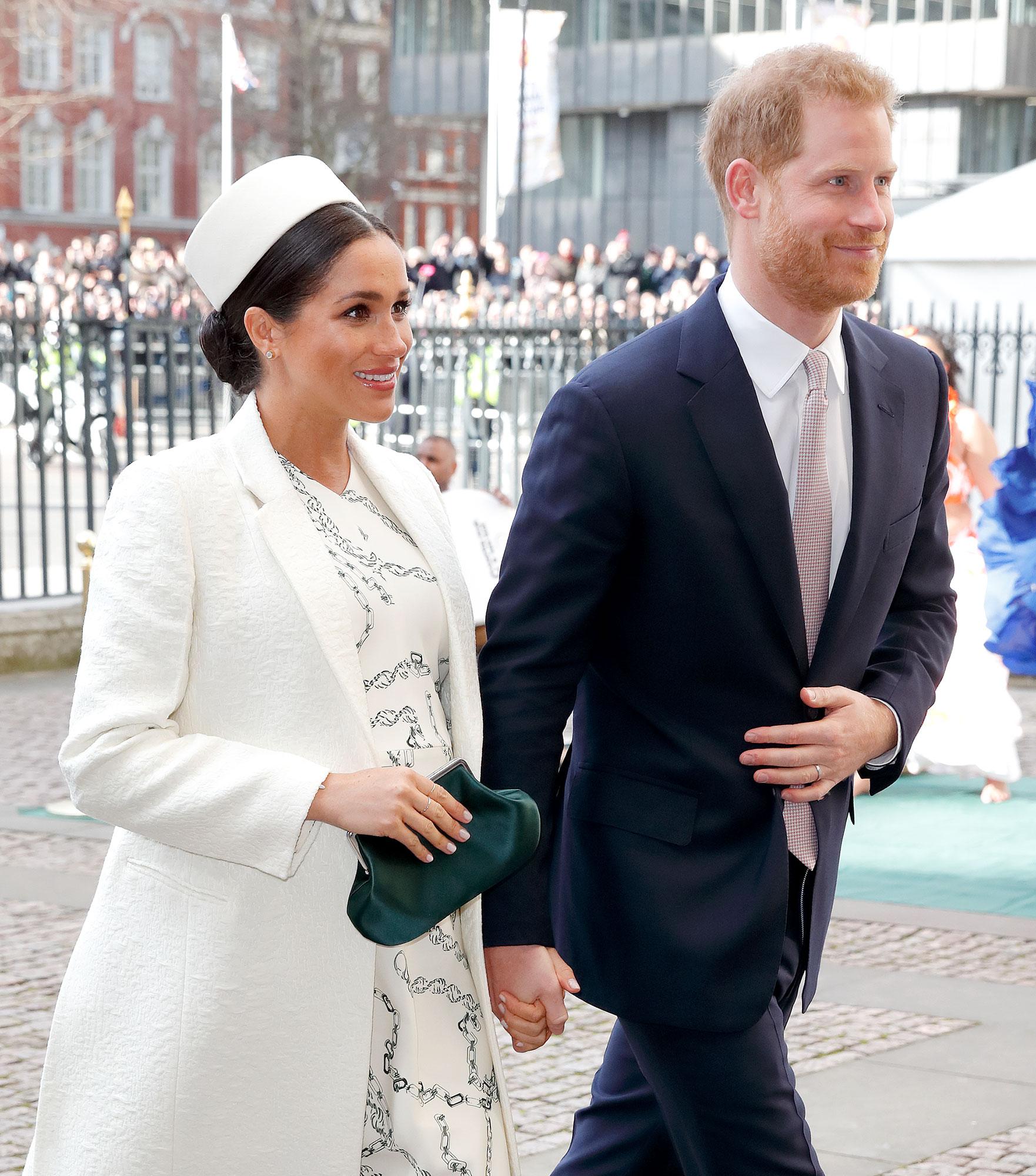Prince Harry and Pregnant Duchess Meghan Attend His Cousin Zara Tindall's Daughter's Christening - Meghan, Duchess of Sussex and Prince Harry, Duke of Sussex attend the 2019 Commonwealth Day service at Westminster Abbey on March 11, 2019 in London, England.